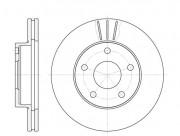Тормозной диск REMSA 6214.10