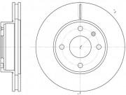 Тормозной диск REMSA 6215.10