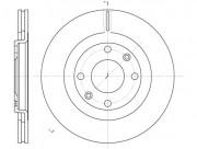 Тормозной диск REMSA 6240.10