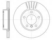 Тормозной диск REMSA 6324.10