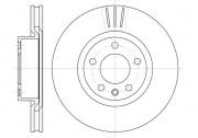 Тормозной диск REMSA 6339.10