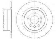 Тормозной диск REMSA 6488.00