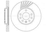 Тормозной диск REMSA 6494.10