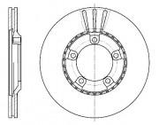 Тормозной диск REMSA 6520.10