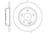 Тормозной диск REMSA 6526.00