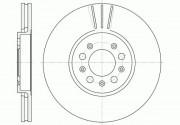 Тормозной диск REMSA 6544.10