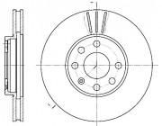 Тормозной диск REMSA 6572.10
