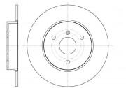 Тормозной диск REMSA 6617.00