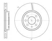 Тормозной диск REMSA 6685.10