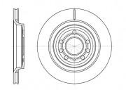 Тормозной диск REMSA 6686.10
