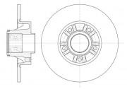 Тормозной диск REMSA 6733.20