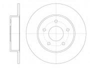 Тормозной диск REMSA 6820.00