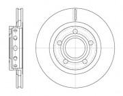 Тормозной диск REMSA 6822.10