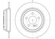 Тормозной диск REMSA 6864.00