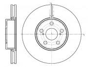 Тормозной диск REMSA 6887.10