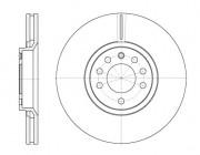 Тормозной диск REMSA 6944.10