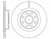 Тормозной диск REMSA 6961.10