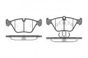 Тормозные колодки REMSA 0270.15