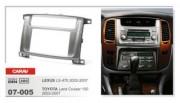 Carav Переходная рамка Carav 07-005 Lexus LX-470 (2002 - 2007), Toyota Land Cruiser 100 (2003 - 2007), 2 DIN
