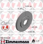 Тормозной диск ZIMMERMANN 100.1233.20