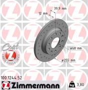 Тормозной диск ZIMMERMANN 100.1244.52