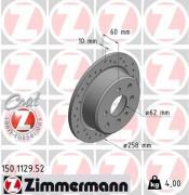 Тормозной диск ZIMMERMANN 150.1129.52