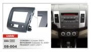Переходная рамка Carav 08-004 Mitsubishi Outlander XL 2006+, Peugeot 4007 2007+, Citroen C-Crosser 2007+, 2 DIN
