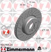 Гальмівний диск ZIMMERMANN 150.2905.20