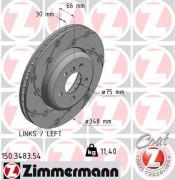 Тормозной диск ZIMMERMANN 150.3483.54