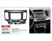 Переходная рамка Carav 08-006 Mitsubishi Lancer Х, Mitsubishi Galant Fortis 2007 +, Proton Inspira 2010+, 2 DIN