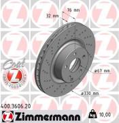 Тормозной диск ZIMMERMANN 400.3606.20