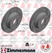 Тормозной диск ZIMMERMANN 400.3622.53