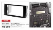 Carav Переходная рамка Carav 08-008 для Volkswagen Multivan T5 (2003+), Touareg (2002+), 2 DIN