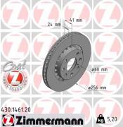 Тормозной диск ZIMMERMANN 430.1461.20