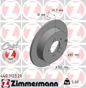 Тормозной диск ZIMMERMANN 440.3123.20
