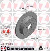 Гальмівний диск ZIMMERMANN 450.5218.20