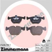 Тормозные колодки ZIMMERMANN 21486.190.1