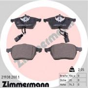 Гальмівні колодки ZIMMERMANN 21938.200.1