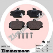 Тормозные колодки ZIMMERMANN 21999.160.1