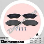 Гальмівні колодки ZIMMERMANN 22087.185.1