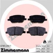 Гальмівні колодки ZIMMERMANN 22165.200.1