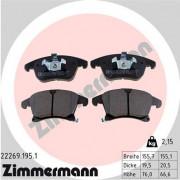 Тормозные колодки ZIMMERMANN 22269.195.1