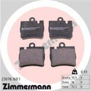 Тормозные колодки ZIMMERMANN 23078.160.1