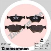 Гальмівні колодки ZIMMERMANN 23183.195.1