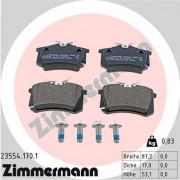 Тормозные колодки ZIMMERMANN 23554.170.1