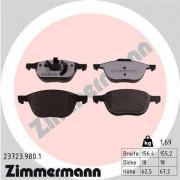 Гальмівні колодки ZIMMERMANN 23723.980.1