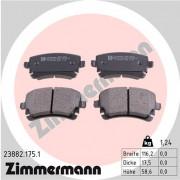 Гальмівні колодки ZIMMERMANN 23882.175.1