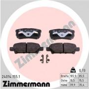 Гальмівні колодки ZIMMERMANN 24014.155.1