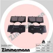 Тормозные колодки ZIMMERMANN 24024.170.1