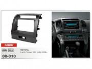 Переходная рамка Carav 08-010 Toyota Land Cruiser 200 V8 (2008+), 2 DIN